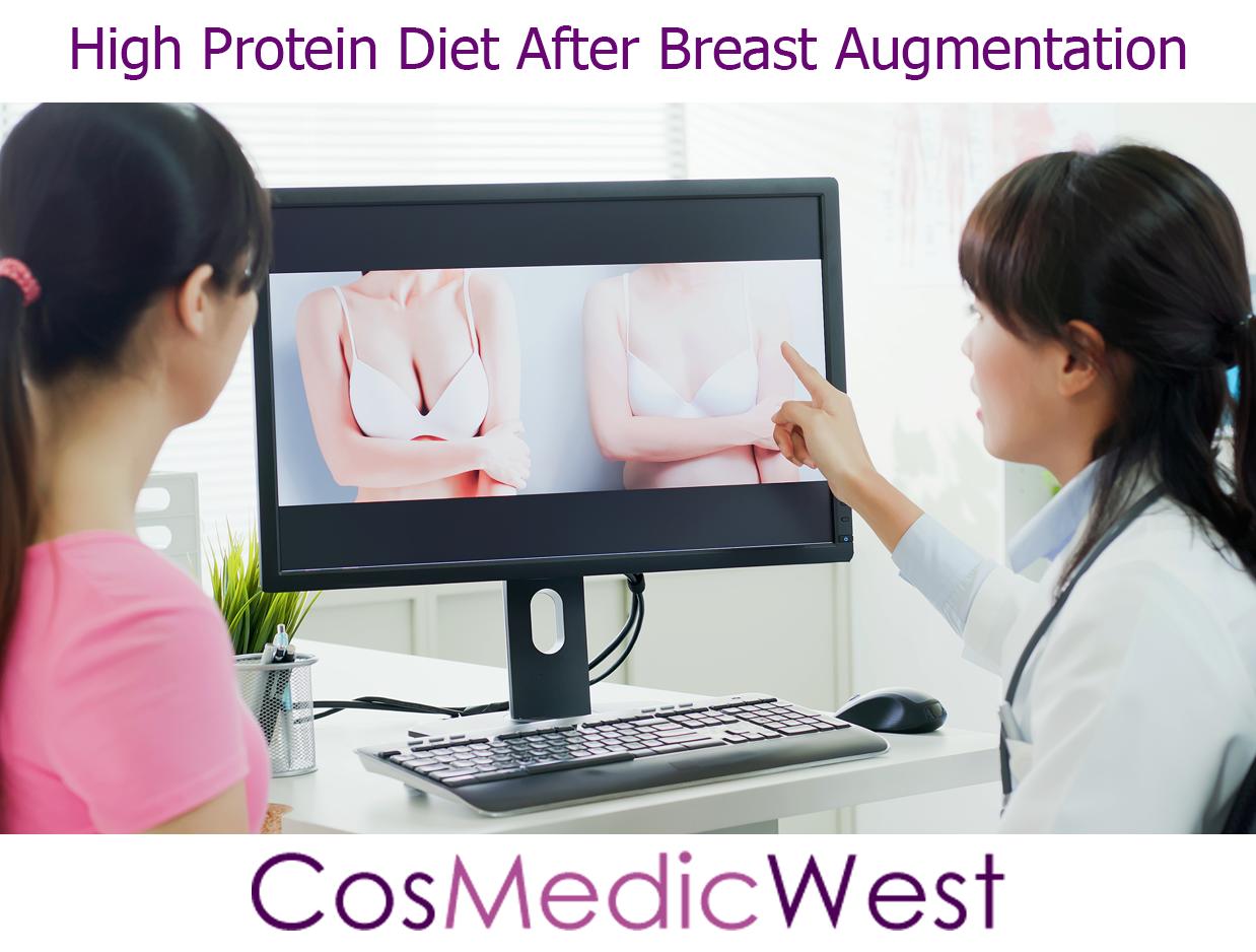 High Protein Diet After Breast Augmentation